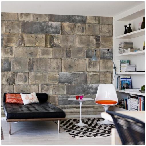 Дизайн стены лофт интерьера фото