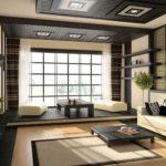 Японский дизайн потолка