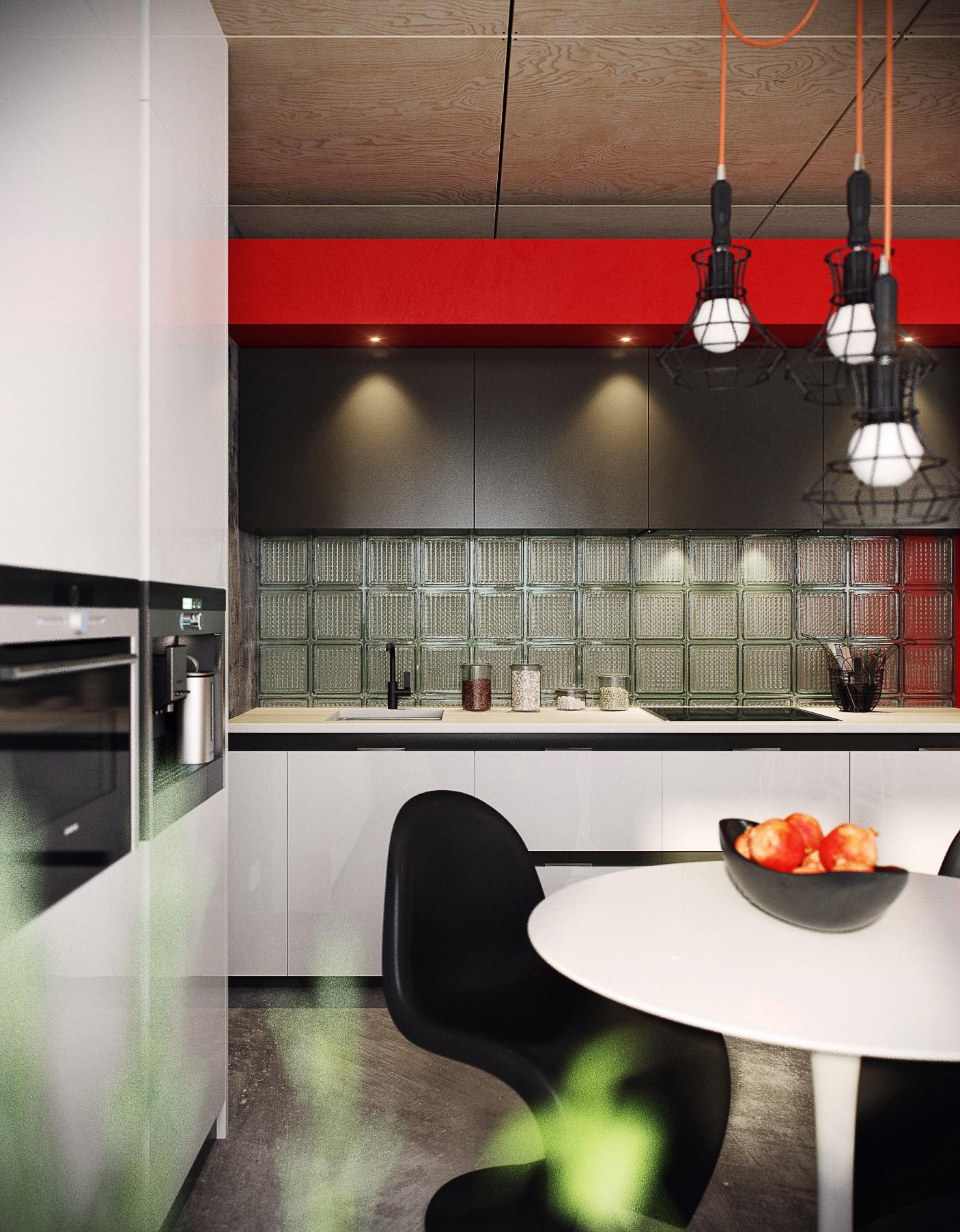 Дизайн двухкомнатной квартиры в стиле лофт