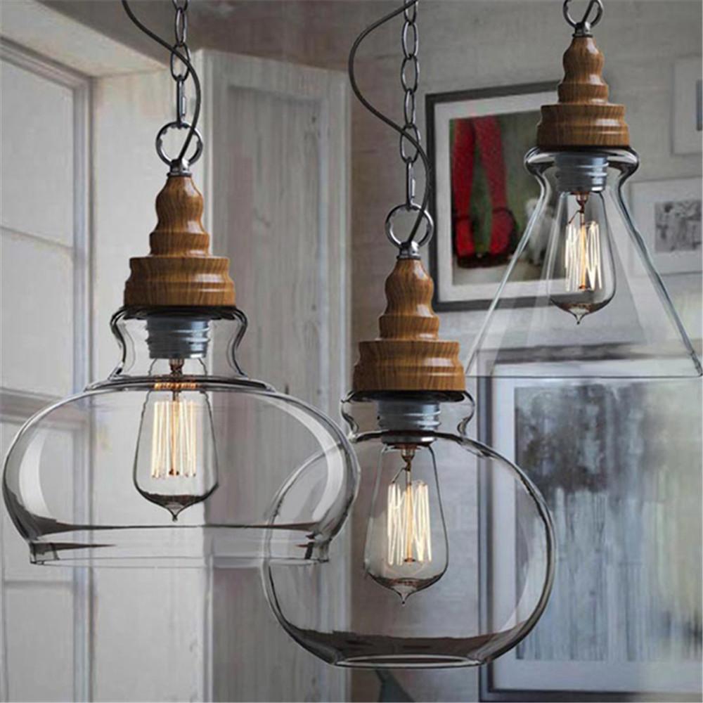 Дизайн люстры на кухне лофт - 4