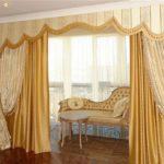 Интерьер в классическом стиле - окна