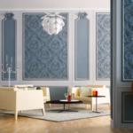 Интерьер в классическом стиле - стены -1
