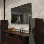 Интерьер в классическом стиле - стены -2