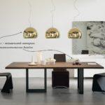 Интерьер в стиле минимализм - отделка металл