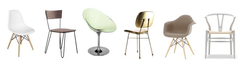Мебель в стиле минимализм - стулья