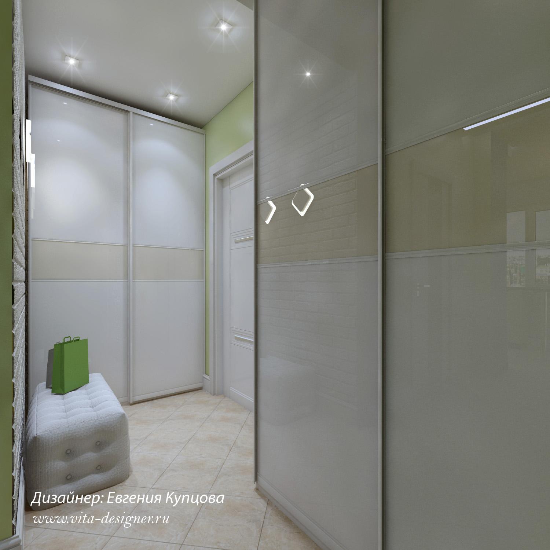 коридор студия дизайна